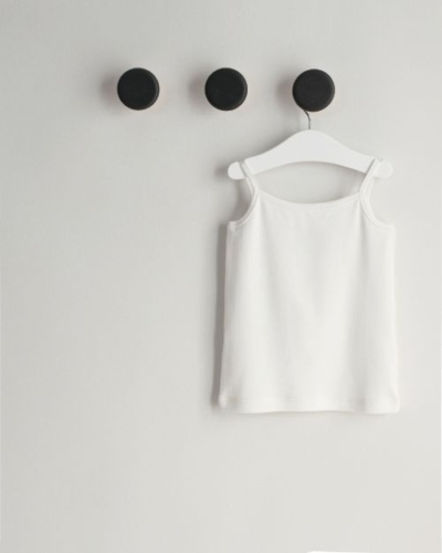 sleeveless shirt for girls organic cotton